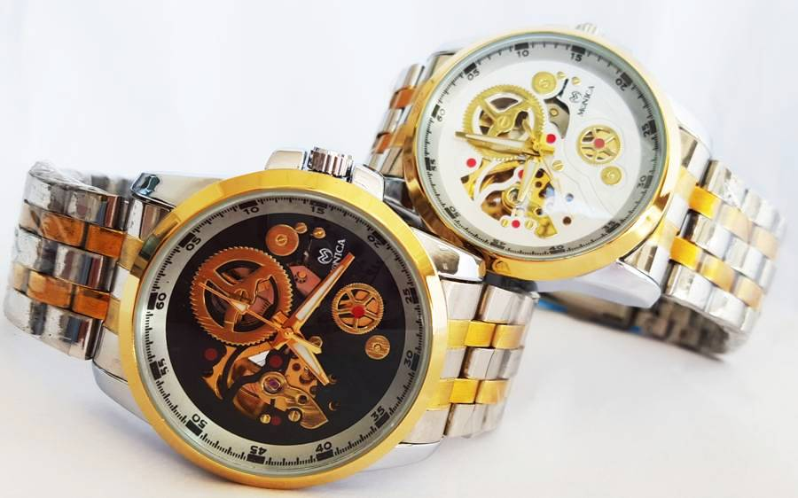 ebe44ccbf190 HOMBRE AUTOMATICOS DE METAL Reloj Hombre Automatico Monica Ref. 203