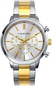 9e8c839c37a5 INFORMACIÓN DEL PRODUCTO. Reloj Viceroy Hombre . Caja de acero. brazalete  de acero bicolor ...